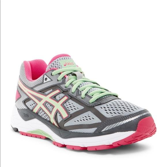 d2123875f96b Asics Gel-Foundation 12 Running Shoe Pink Gray